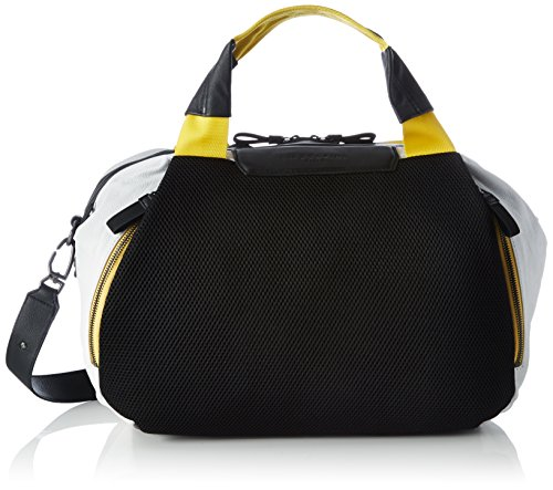Main compartment with zip Removable and adjustable crossbody strap Inner pockets for all of your essentials