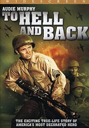 Image result for audie murphy in to hell and back movie poster