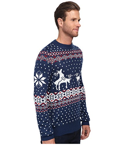 mens ugly christmas sweater reindeer climax tacky christmas sweater blue ugly sweaters