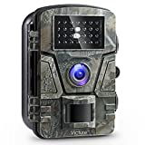 Victure Trail Game Camera 1080P 12MP Wildlife Camera Motion Activated Night Vision 20m with 2.4' LCD Display IP66 Waterproof Design for Wildlife Hunting and Home Security