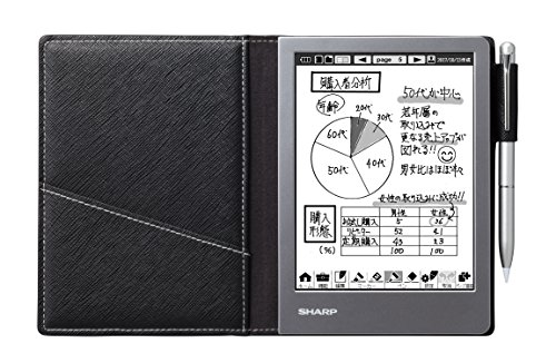 Sharp Electronic Notebook Black WG-S50(Japan Domestic genuine products)