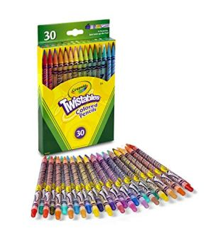 Crayola Twistables ColoCrayola Twistables Colored Pencilsred Pencils