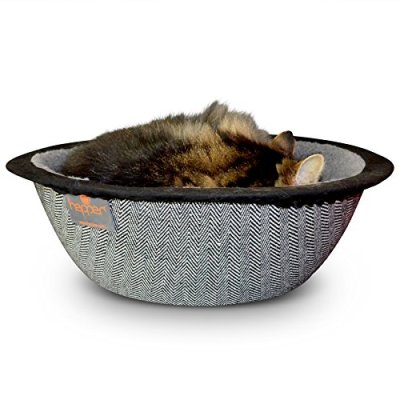 Hepper Cat Nest – Washable Cat Bed with Removable Fluffy...