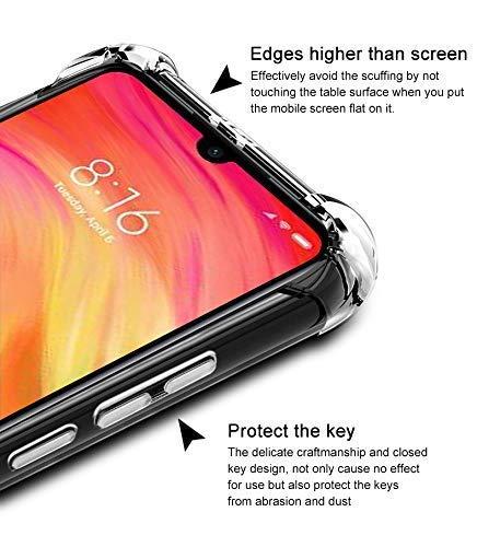 NTV Oppo Reno 10X (Transparent) Protective + Anti Shockproof Case 4