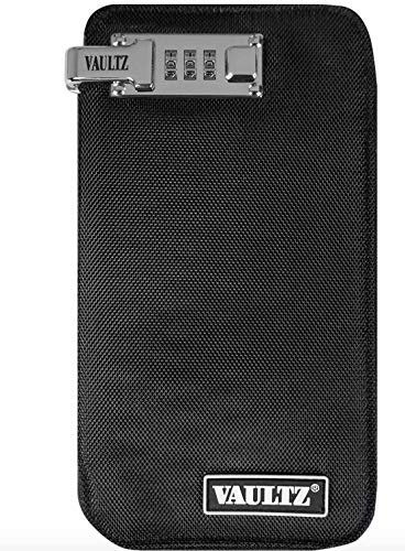 VaporVaultz Box Mod Case for Vaping Accessory Storage, Black (VZ00380)