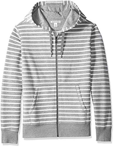 Amazon Essentials Men's Full-Zip Hooded Fleece Sweatshirt 1 🛒 Fashion Online Shop gifts for her gifts for him womens full figure