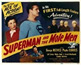 Pop Culture Graphics Superman and the Mole Men POSTER Movie (1951) Style A 11 x 14 Inches - 28cm x 36cm (George Reeves)(Phyllis Coates)(Jeff Corey)