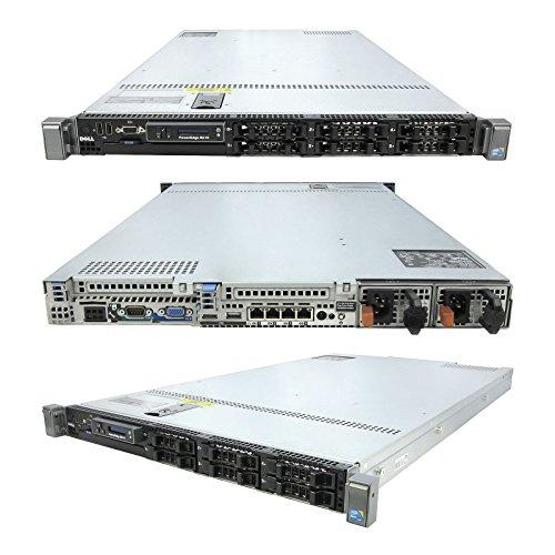 High-End Virtualization 1u Server 12-Core 96GB RAM 1 8TB SSD RAID Dell R610  Rails (Renewed)