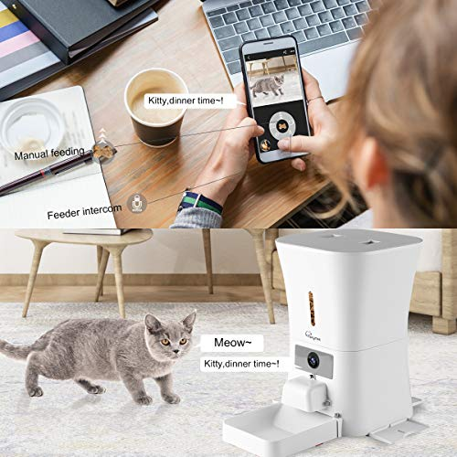 SKYMEE-Petreat-AI-WiFi-Automatic-Pet-Feeder-Food-Dispenser-for-Cats-Dogs1080P-Full-HD-Pet-Camera-Treat-Dispenser