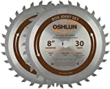 Oshlun SBJ-0830 8-Inch Box and Finger Joint Set