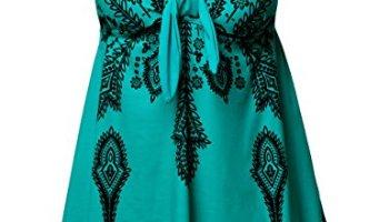 2fc0a2de12738 NONWE Women s Plus-Size Swimsuit Retro Print Two Piece Pin up Beachwear  Swimwear