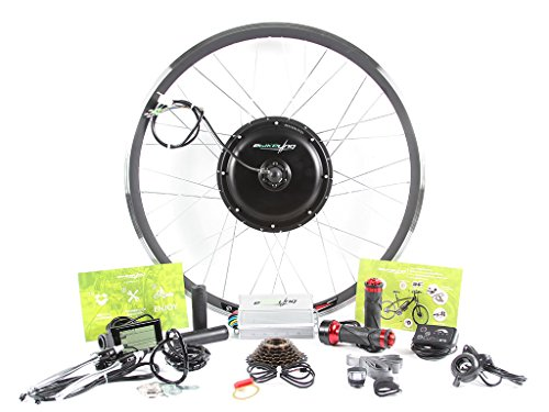 EBIKELING 48v 1500w 700C REAR Direct Drive Hub motor ebike Electric Bicycle Conversion Kit - No batteries included