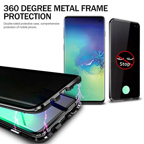 Anti-peep-Magnetic-Case-for-Samsung-S10Anti-Peeping-Magnetic-Adsorption-Double-Sided-Privacy-Screen-Protector-Support-Fingerprint-Unlocking-Metal-Bumper-Anti-Spy-Phone-Cases-Cover-for-Samsung-S10