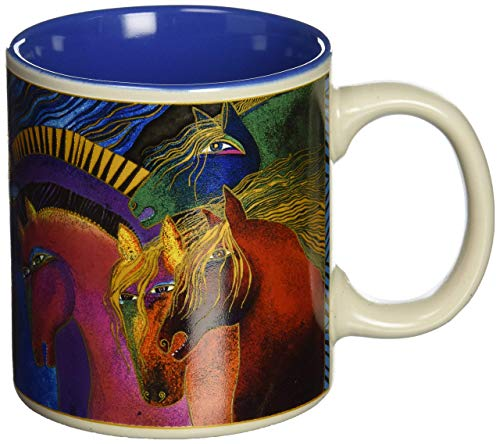 Laurel Burch Artistic Mug Collection, Wild Horses Of Fire
