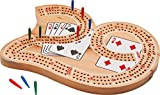 Mainstreet Classics Wooden '29' Cribbage Board Game Set