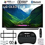 LG OLED55C8PUA 55 C8 OLED 4K AI TV with Wireless Keyboard + Wall Bracket Bundle