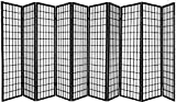 Product review for 10 Panel Room Divider Square Design - Black