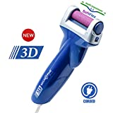 Emjoi Micro-Pedi 3D POWER Callus Remover with Xtreme Coarse Soft & Flexible Roller (Most Powerful & Corded)