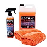 P&S Detailing Products C2501 + C250P Bead Maker Paint Protectant Combo Kit (1 Gallon + 1 Pint) with Two Free Bead Maker Ultimate Microfiber Towels by The RAG Company