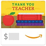 Amazon eGift Card - Thank You Teacher (Books)