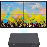 LINK-MI TV04 2x2 Video Wall Controller USB+HDMI+VGA+AV TV HDMI with Fully-Digital Processing Channel Inside 180 Degree Rotate