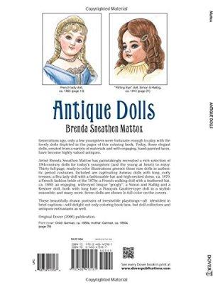 Antique Dolls (Dover Fashion Coloring Book)