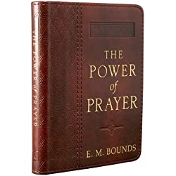 The Power of Prayer: One-Minute Devotions (LuxLeather)