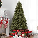 Best Choice Products 7.5ft Premium Spruce Hinged Artificial Christmas Tree w/ Easy Assembly, Foldable Stand - Green