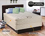 "Product review for Dreamy Collection Medium Firm Eurotop (Pillowtop) Queen 60""x80""x10"" Mattress and Box Spring Set-Spinal Back Support, Premium edge guards, Longlasting Comfort by Dream Solutions USA"