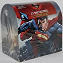 Valentine's Day Mailbox with 32 Valentine Cards (Superman Man of Steel)