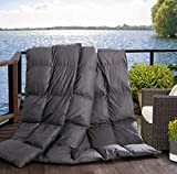 L LOVSOUL Microfiber Comforter (White,Queen)-Premium Brushed Microfiber Cover-Hypoallergenic Plush Down Alternative Comforter Duvet Insert (90x90Inches)
