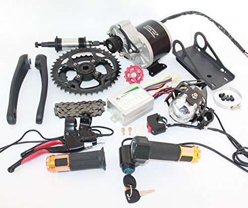 48V 450W Electric Mountain Bike Mid-Drive Conversion Kit Electric Bike Kit Diy E-Bike Parts