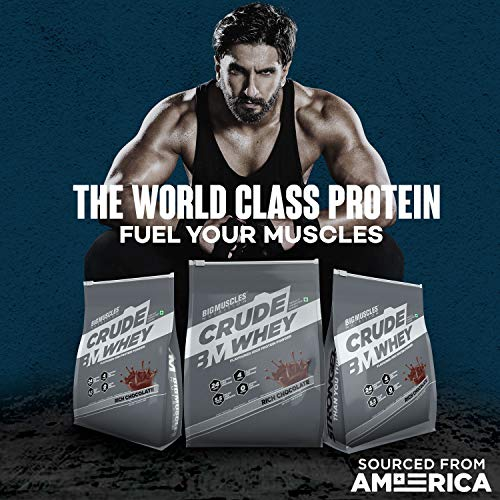 Big muscles Nutrition Crude Whey