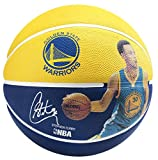 Spalding 83343 Stephen Curry Basketball, Gold/Blue