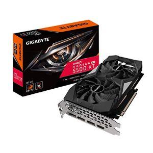 Gigabyte Radeon RX 5500 XT OC 4G Graphics Card, PCIe 4.0, 4GB 128-Bit GDDR6, GV-R55XTOC-4GD Video Card