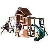 Chateau Cedar Swing Set, Wave...