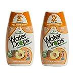 Sweetleaf Stevia Natural Water Drops Peach Mango, 1.62 Fl Oz (Pack of 2)