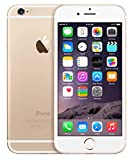 Apple iPhone 6, GSM Unlocked, 128GB - Gold (Renewed)