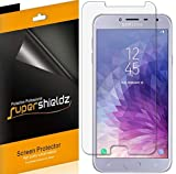 (6 Pack) Supershieldz for Samsung Galaxy J4 (2018) and Galaxy J4 SM-J400 J400M Screen Protector, High Definition Clear Shield (PET)