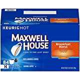 Maxwell House Breakfast Blend Keurig K Cup Coffee Pods (84 Count)