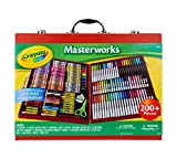 Crayola Masterworks Art Case, Over 200 Pieces, Gift for Kids, Age 4, 5, 6, 7 (Amazon Exclusive)