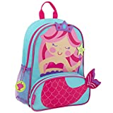 Stephen Joseph Girls' Little Sidekicks Backpack, Mermaid