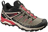 Salomon X Ultra 3 GTX Hiking Boots - Mens, Bungee Cord/Vintage Kaki/Red Dahlia, L40674900-11
