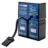 RBC33 - Compatible Replacement Battery Pack for APC XS1500 by UPSBatteryCenter