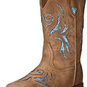 ROPER Unisex-Child Glitter Breeze Western Boot