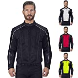 Viking Cycle Warlock Motorcycle Mesh Jacket For Men