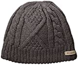Columbia Women's Cabled Cutie Beanie, Charcoal Heather, One Size