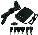 Duracell DRAC90S Slim Universal Laptop Adapter, 19V, 90-Watt