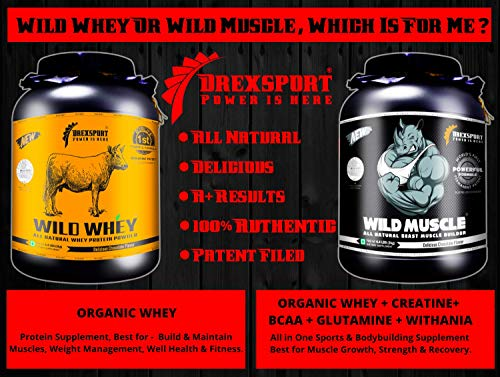 Grass-fed Whey Protein Powder for Men
