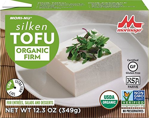 Mori-Nu Organic Silken Tofu, Firm, 12.3 Ounce (Pack of 12)